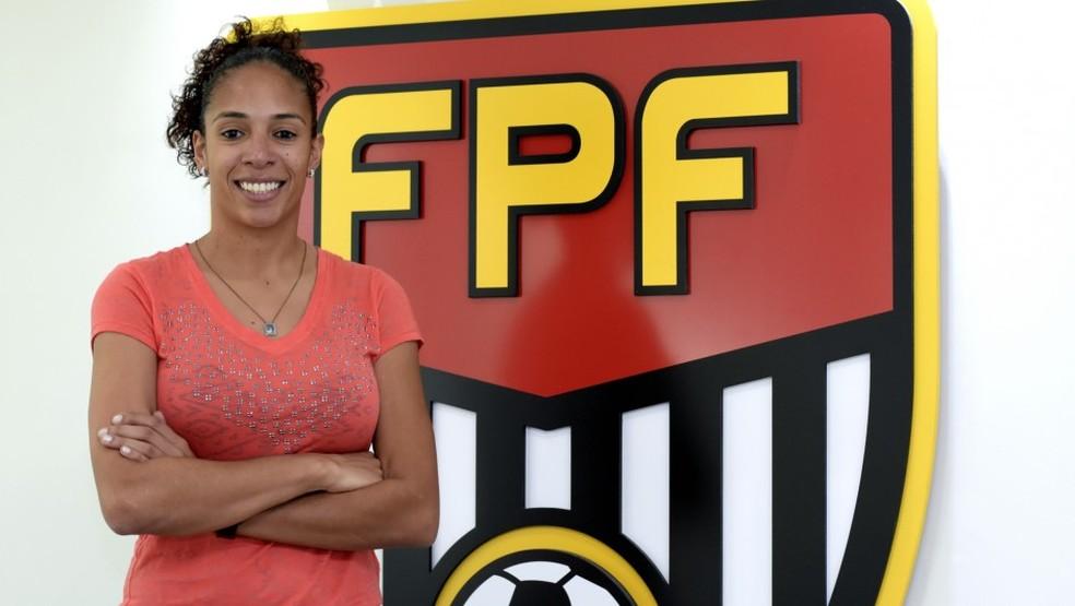 Aline Pellegrino — Foto: Rodrigo Corsi/FPF