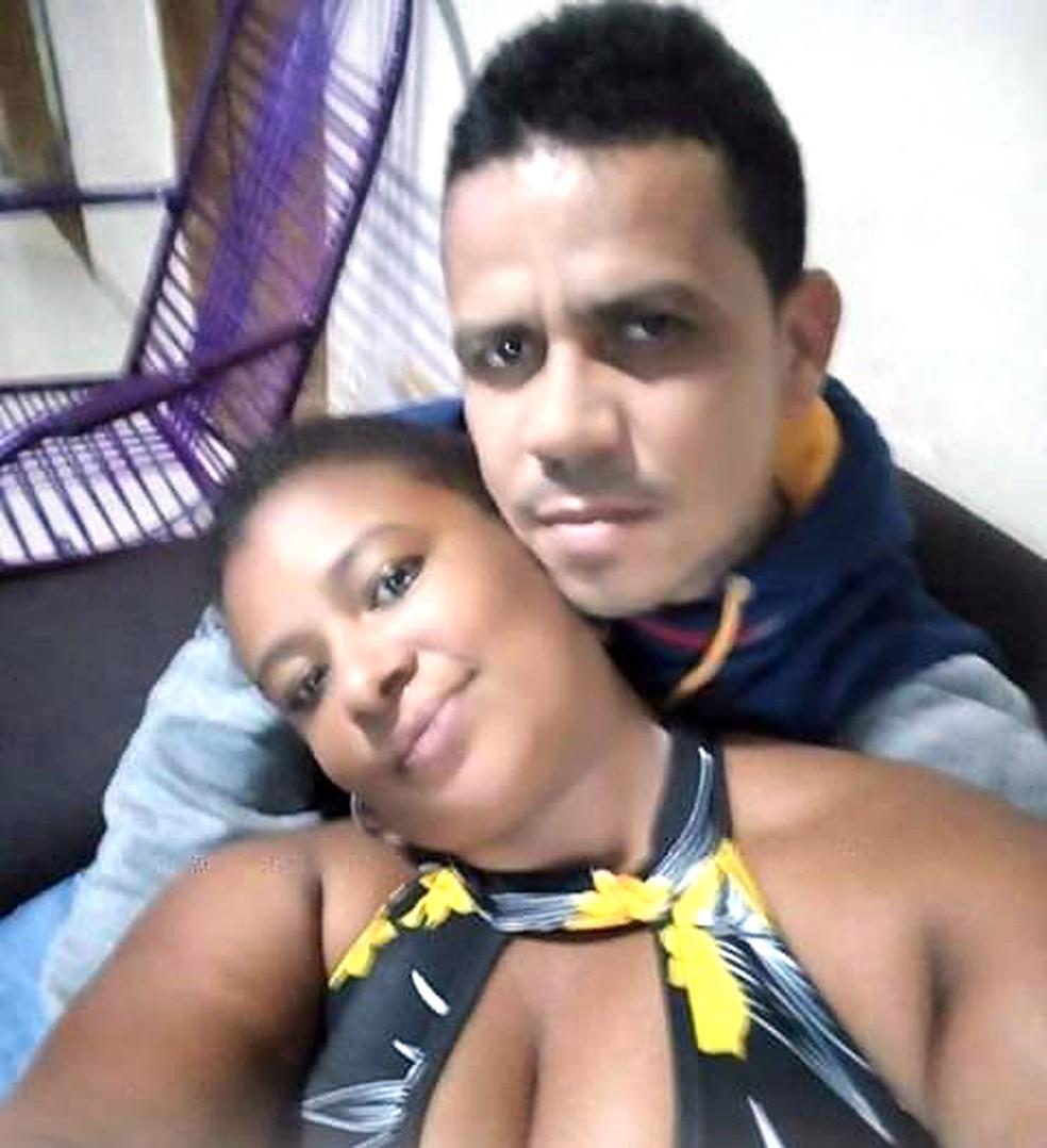 Cristiane e Alexandre viviam juntos havia um ano — Foto: Reprodução/TV Globo