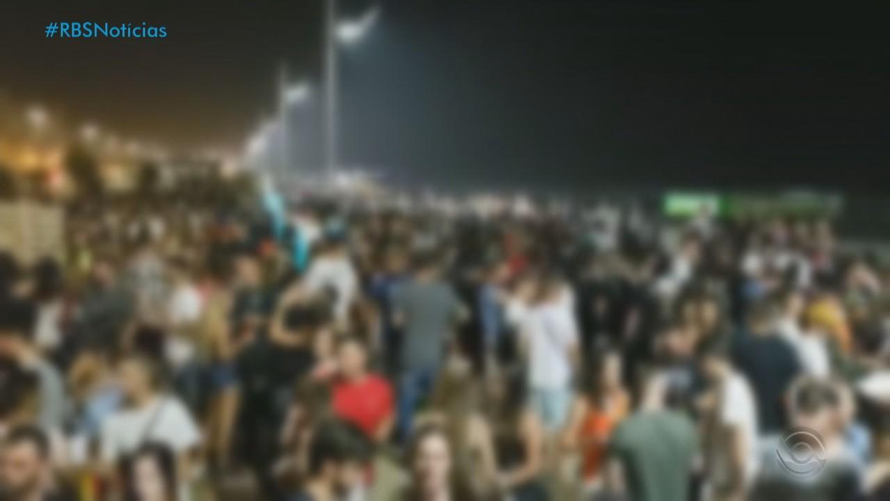 Bombeiros e forças policiais mantêm 40% do efetivo nas praias até 15 de março