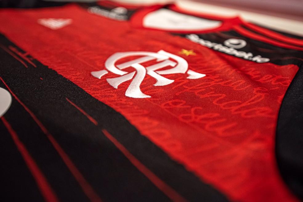 Negociação de novo patrocínio máster do Flamengo é afetada pelo coronavírus — Foto: Divulgação/Flamengo