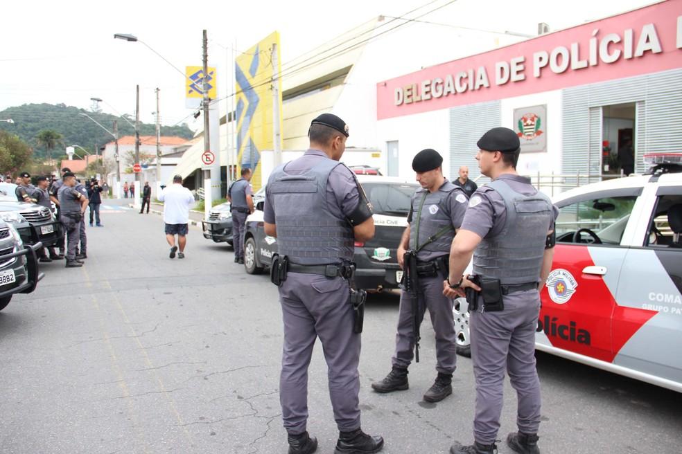 Policiais começam a ser imunizados contra a Covid-19 a partir desta segunda-feira (5), junto a outros agentes de segurança do estado — Foto: Jonny Ueda/Futura Press/Estadão Conteúdo