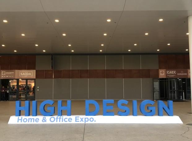 high-design-2018-na-expo-sao-paulo (Foto: Bruna Pereira/Editora Globo)
