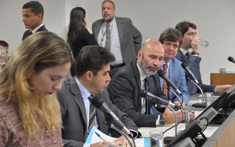 Deputados que formam a CPI de Brumadinho na Assembleia Legislativa de Minas Gerais (ALMG) — Foto: Clarissa Barçante/ALMG
