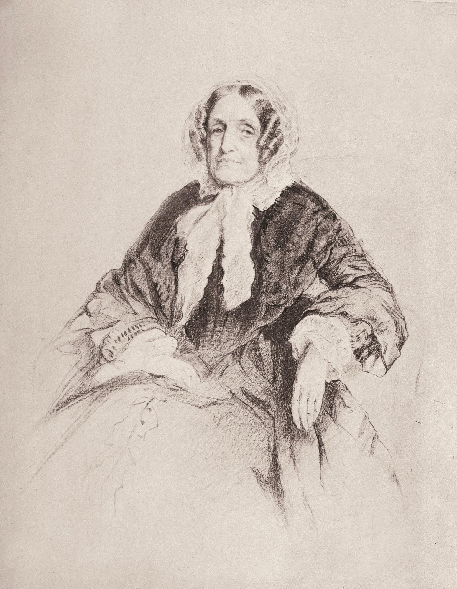 Jane Marcet, a pioneira em divulgação científica voltada para mulheres (Foto: Wikimedia Commons)
