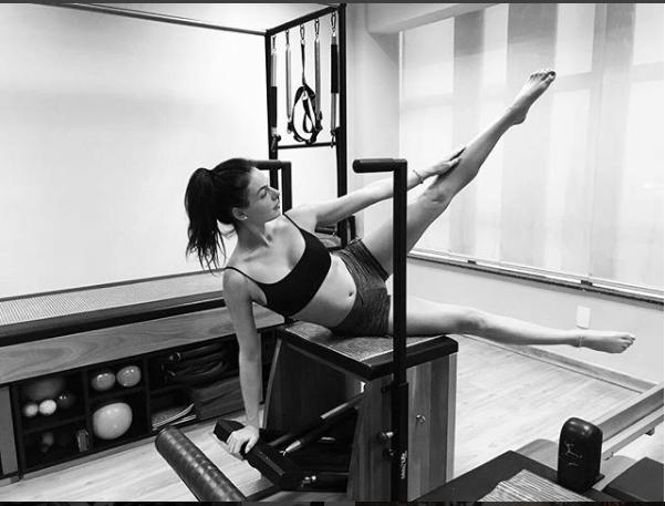 Isis Valverde entrou no segundo trimestre da gravidez e prioriza a saúde e boa forma (Foto: Reprodução Instagram)