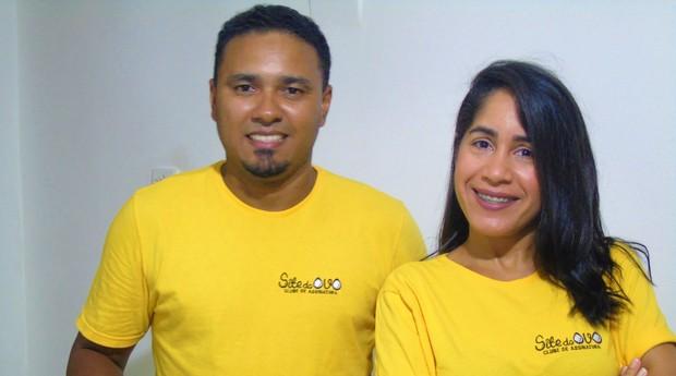 Leonardo Araujo e Ella Pinheiro, fundadores do Site do Ovo (Foto: Divulgação)