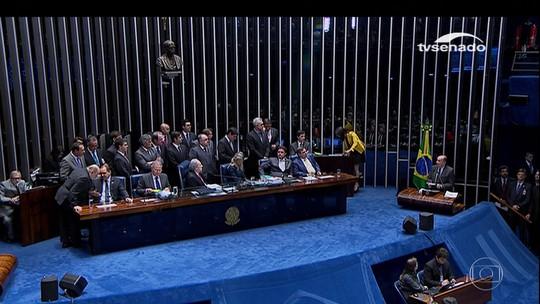 Senadores decidem que Dilma está habilitada a exercer funções públicas