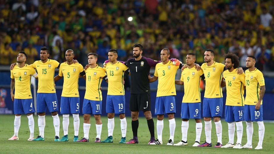 Resultado de imagem para seleção brasileira 2017
