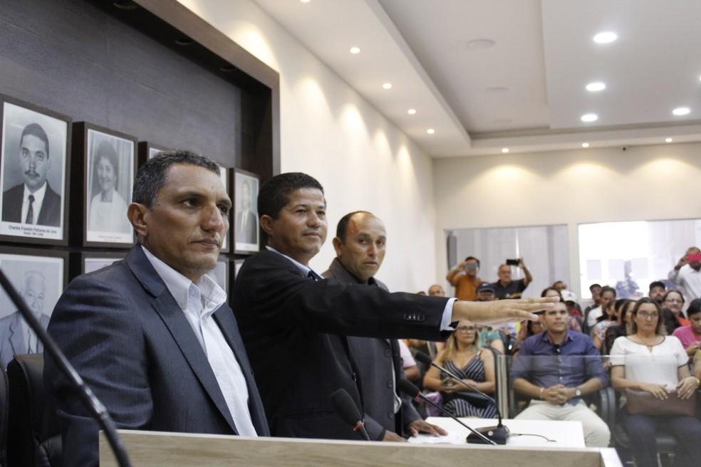 Após nomeação de suplentes, Câmara Municipal de Santa Cruz, no RN, vai eleger nova mesa-diretora — Foto: Wallace Azevedo