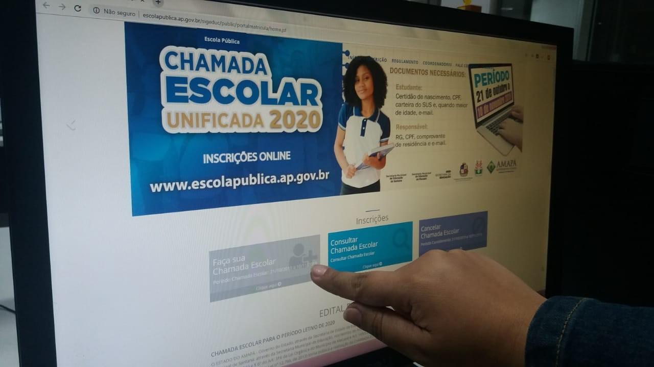 Chamada escolar mapeia vagas para 2020 em escolas públicas do AP; veja como participar - Notícias - Plantão Diário