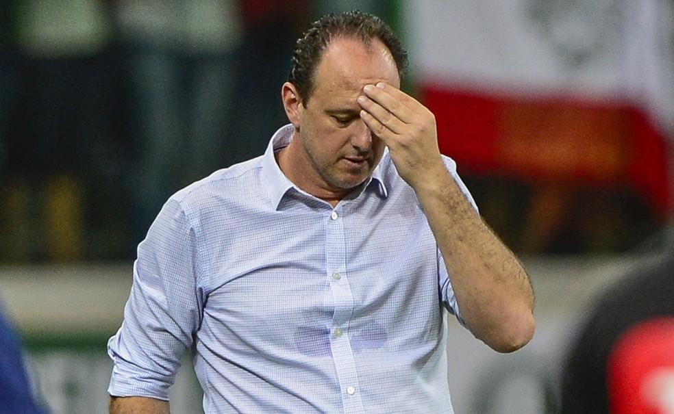 Rogério Ceni durou pouco no cargo de treinador do Cruzeiro — Foto: Renato Pizzutto/BP Filmes
