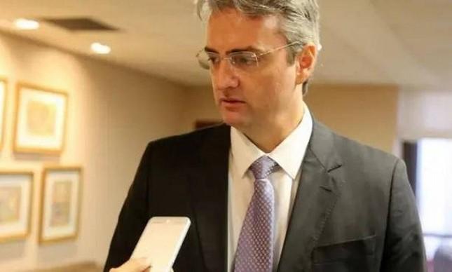 O novo diretor-geral da PF, Rolando Alexandre de Souza