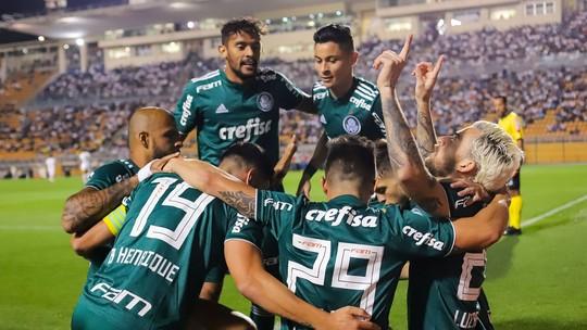 Lucas Lima abre o placar, e Gustavo Henrique faz 1 a 1: assista aos gols