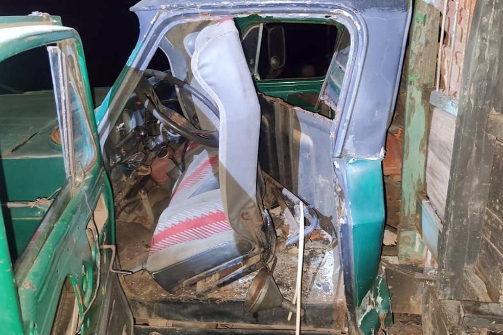 Criança morre após se envolver em acidente de caminhão com o pai  — Foto: Divulgação