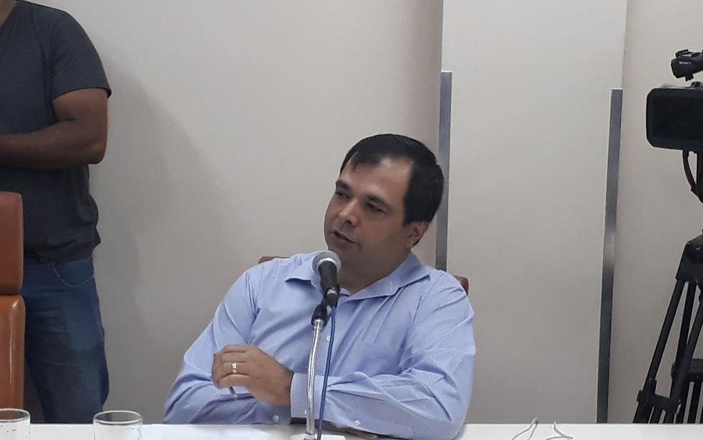 O ex-diretor do Serviço de Atendimento Móvel de Urgência (Samu) Carlos Henrique Duarte Bahia (Foto: Sílvio Túlio/G1)