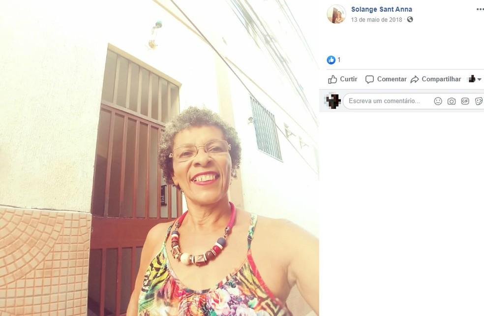 Solange estava com Helena na cidade de Ilhéus — Foto: Reprodução/Redes Sociais