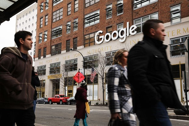 Fachada do campus do Google em Nova York (Foto: Getty Images)