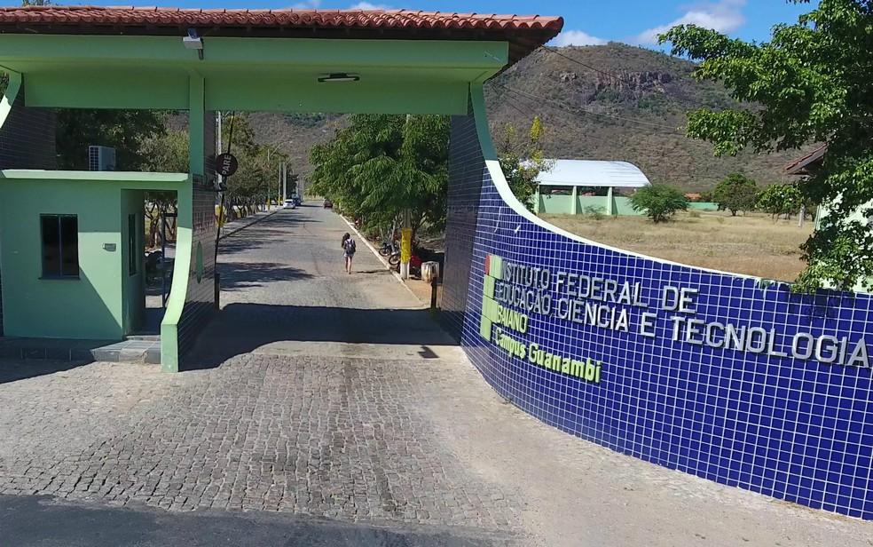 O IF Baiano vai abrir 2.855 vagas para o Processo de Ingresso 2019 para estudantes de 14 cidades da Bahia (Foto: Reprodução)