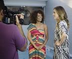 Isabel Fillardis e Ana Furtado gravam série com mulheres de 40 anos para o 'Fantástico' | Raphael Dias/TV Globo