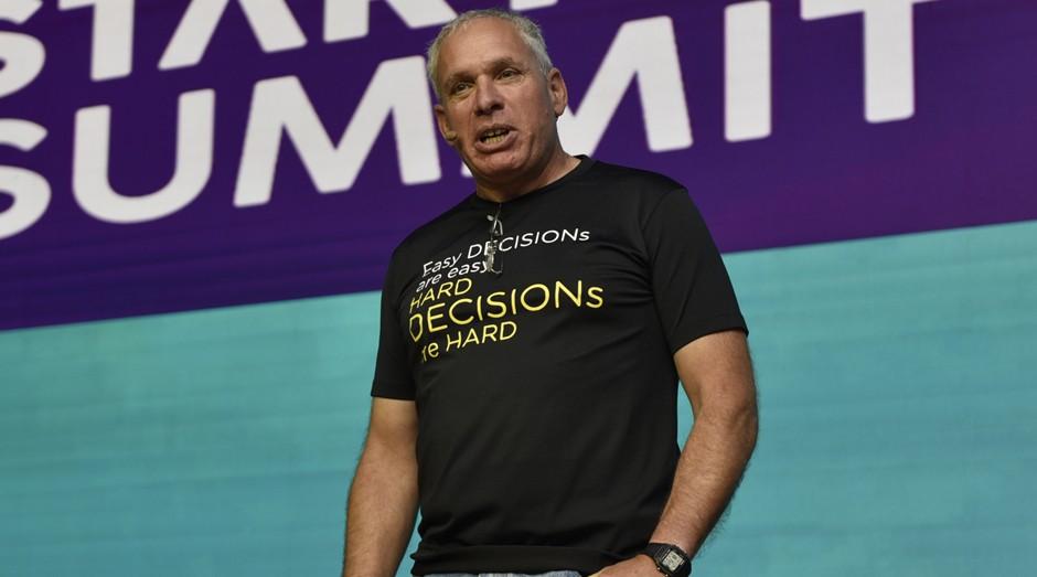 Uri Levine, fundador do Waze, durante o Startup Summit (Foto: Fabrício de Almeida / Imagem e Arte)