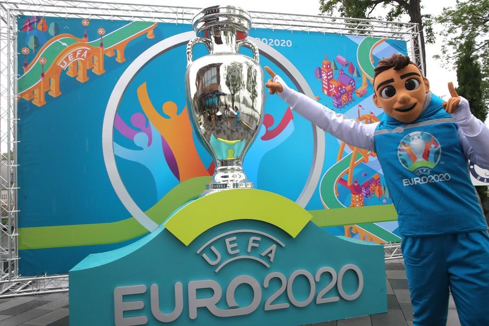 Skillzy, o mascote da Euro 2020 — Foto: Divulgação/Uefa