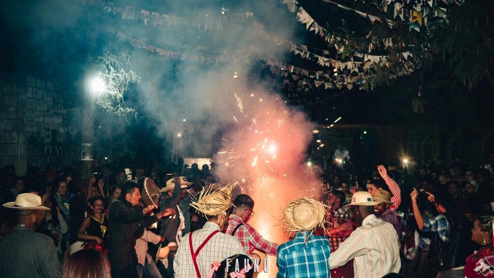 Arraial da Serra é uma das festas que compõe a programação de festas juninas em Belo Horizonte   — Foto: Fauno Cultural/Seu Vizinho/Divulgação