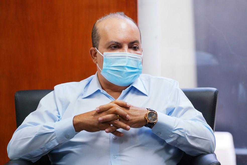 Governador do Distrito Federal Ibaneis Rocha, em imagem de arquivo — Foto: Renato Alves/ Agência Brasília
