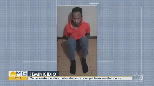 Polícia prende homem suspeito de matar ex-mulher em Matozinhos, na Grande BH