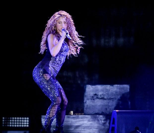 Shakira se apresenta em São Paulo (Foto: Francisco Cepeda/AgNews)