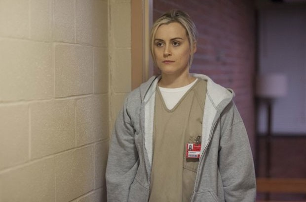 A personagem Piper Chapman (Taylor Schilling) terá mais problemas na cadeia na segunda temporada de 'Orange is the New Black' (Foto: Divulgação/Netflix)