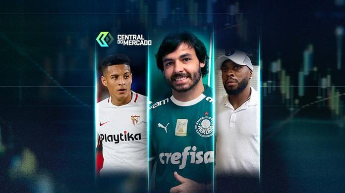 Central do Mercado  Palmeiras anuncia Goulart eb392fc2d465f