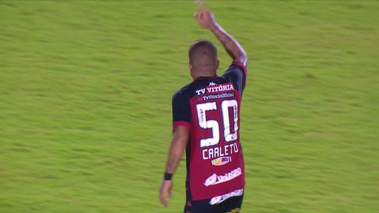 Destaque do time, Thiago Carleto desfalca o Vitória após nove partidas como titular