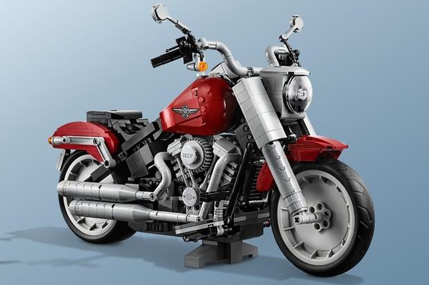 Harley Davidson Fat Boy Lego (Foto: Divulgação)