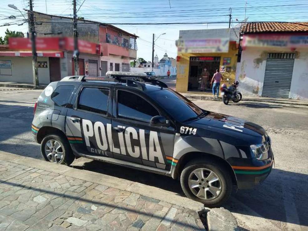 Polícia Civil cumpriu mandados de prisão, busca e apreensão em Cascavel, no Ceará — Foto: Polícia Civil