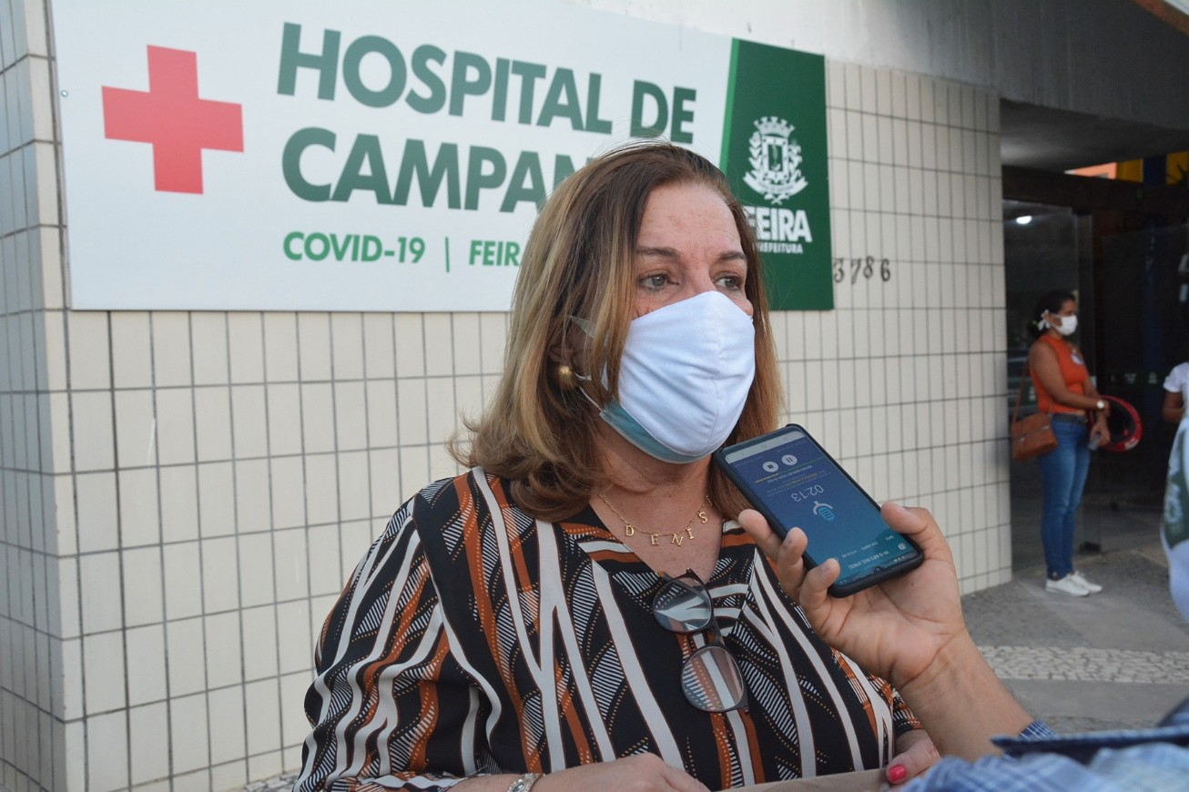 Secretária de saúde de Feira de Santana testa positivo para coronavírus