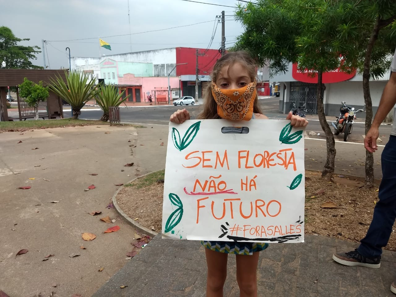 No AC, manifestantes vão às ruas para protestar contra queimadas na Amazônia - Notícias - Plantão Diário