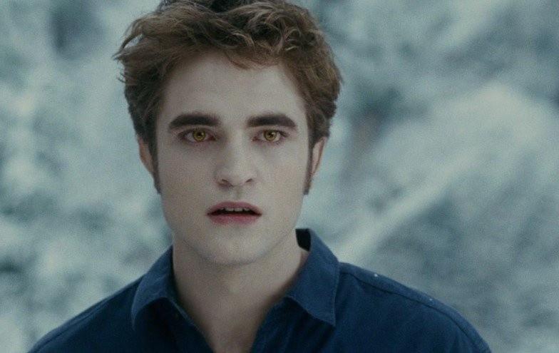 Robert Pattinson como Edward Cullen (Foto: Reprodução)