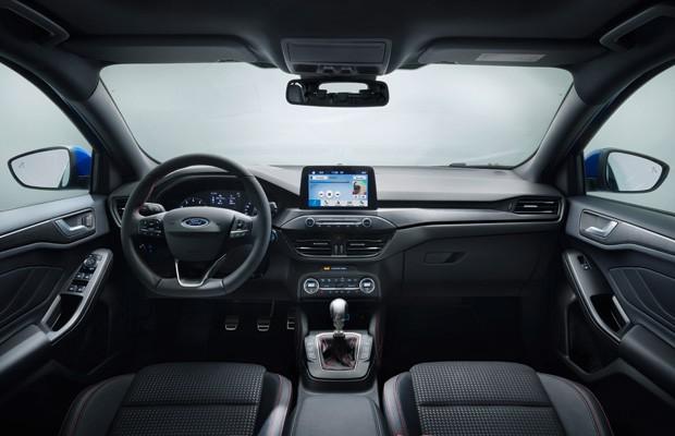 Interior do Ford Focus St-Line (Foto: Divulgação)