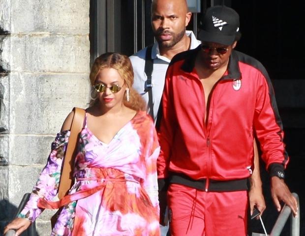 Beyoncé e Jay-Z (Foto: Backgrid)