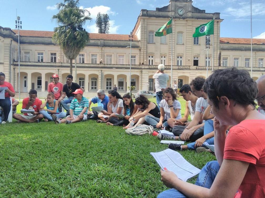 Atividade com o MST foi alvo de sindicância na Esalq — Foto: Fernanda Moraes