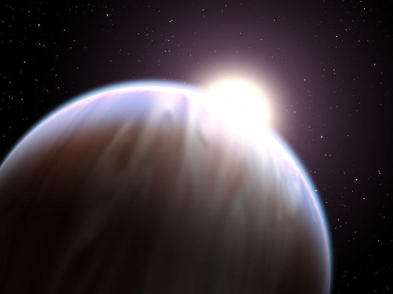 Planeta HD 219134 b (Foto: NASA, ESA & G. Bacon/Wikimedia Commons)