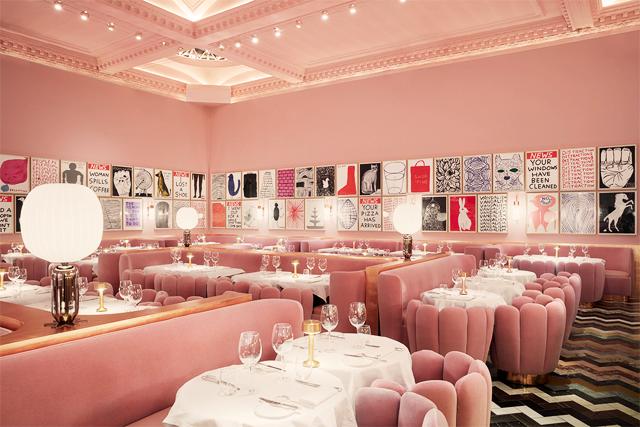 The Gallery: casa de bonecas gigante em Londres para um chá da tarde (Foto: Divulgação)