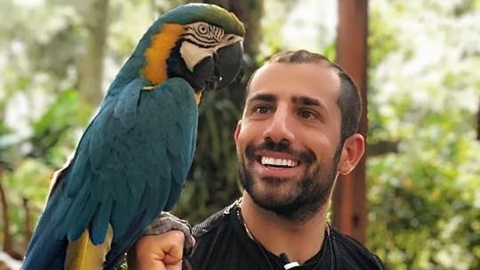 Relembre a visita do Kaysar Dadour em Foz do Iguaçu com o 'Estúdio C'