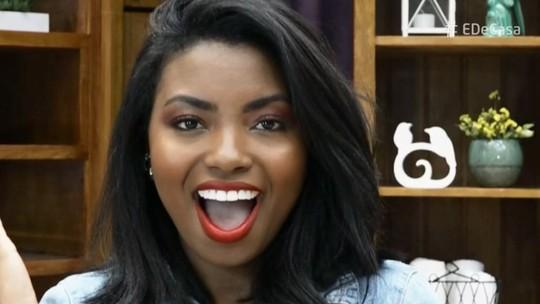 Camila Nunes ensina maquiagem para pele negra