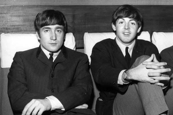 Os Beatles John Lennon e Paul McCartney (Foto: Getty Images)