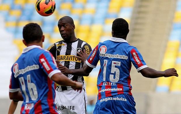 Seedorf botafogo feijão bahia série A (Foto: Vítor Silva / SSPress)