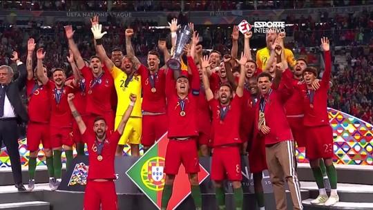 Portugal vence a Holanda e conquista a Liga das Nações