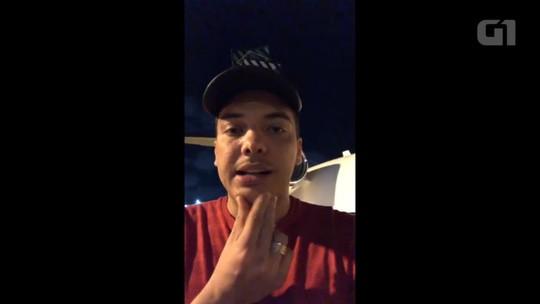 Wesley Safadão relata problema em avião e adia show