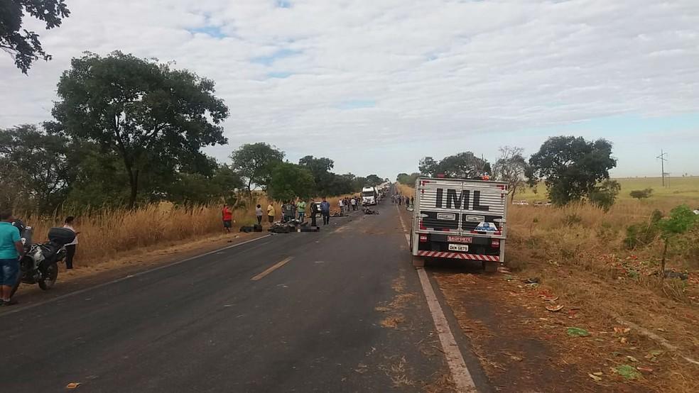 acidente - Casal sousense morrem em grave acidente no estado do Tocantins