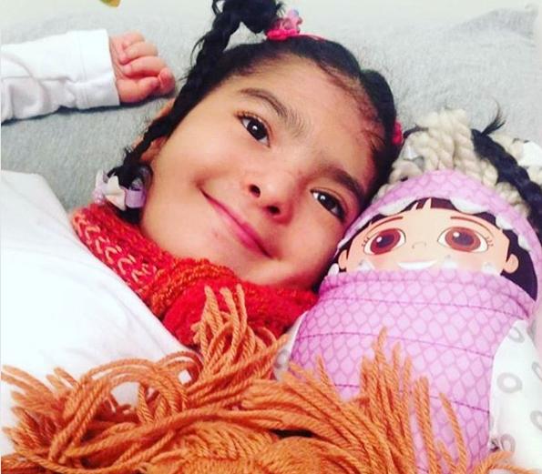 Olívia, filha de Fogaça (Foto: Reprodução Instagram)